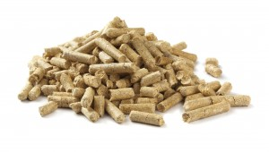 Neil Sullivan and Sons: Pile of wood pellets isolated on white